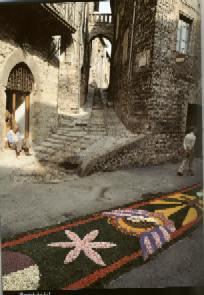 Flower carpets - Spello