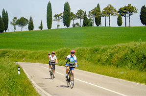 cycling in Tuscany 1